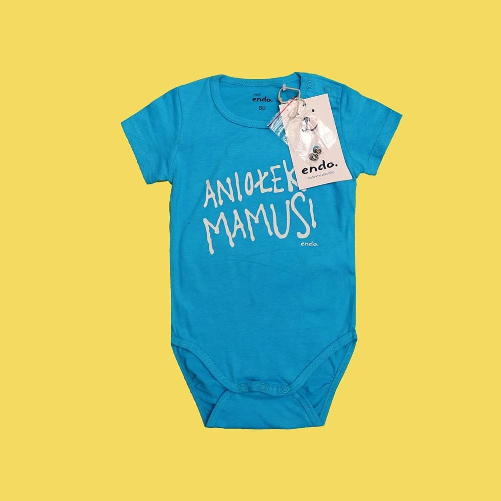 Endo baby imported skin-friendly cotton romper